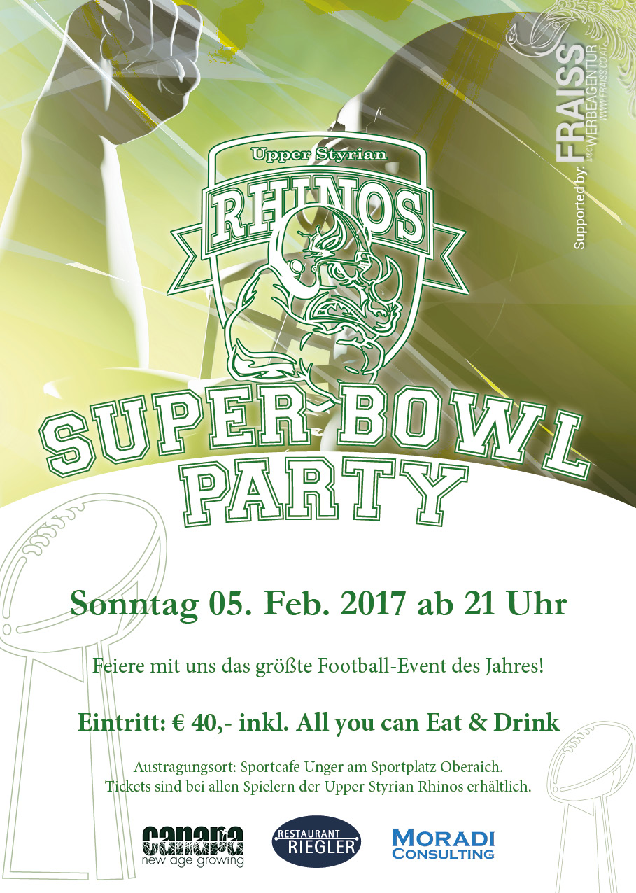 Superbowl-Plakat